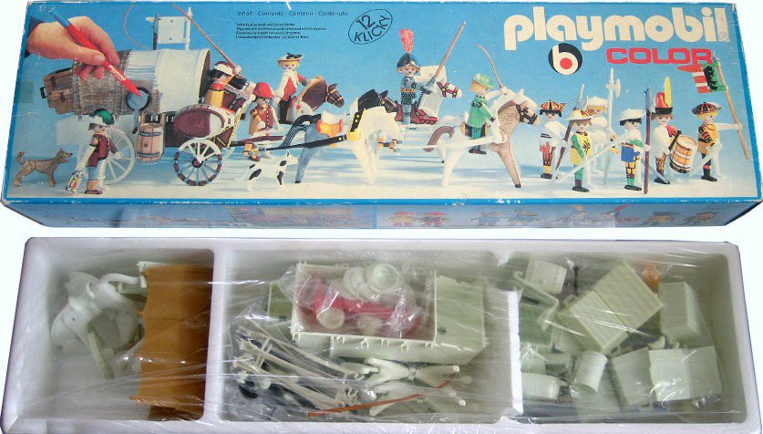 Playmobil 3660s1 - Market Procession - Box