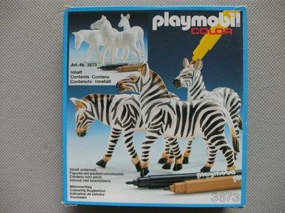 Playmobil 3673 - Zebras - Box