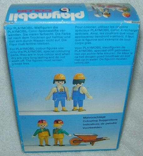 Playmobil 3690 - Construction Workers - Back