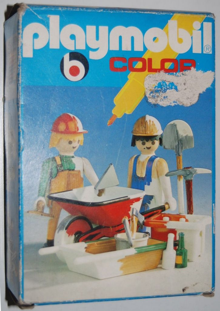 Playmobil 3690 - Construction Workers - Box