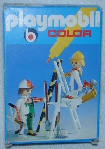 Playmobil 3691 - Ouvriers du bâtiment - Boîte