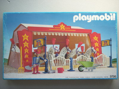 Playmobil 3730 - Circus Horse Tent - Box