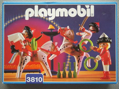 Playmobil 3810 - Circus Riders - Box