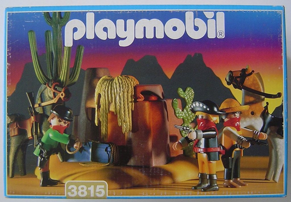 Playmobil 3815 - Outlaws Hideaway - Box