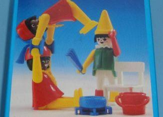 Playmobil - 3923 - Clown and Acrobats