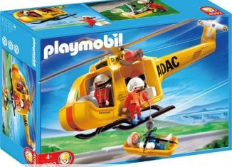 Playmobil - 4092 - ADAC Helicopter