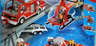 Playmobil - 4096-ger - Feuerwehr MEGA Set