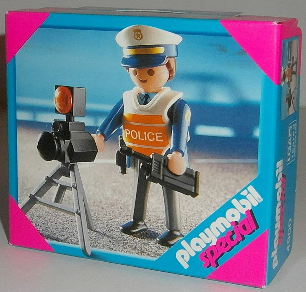 Playmobil 4900 - Radar Control - Box