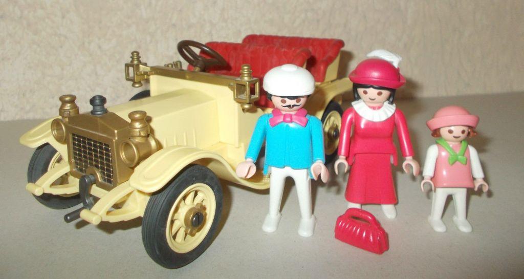 Playmobil 5620v1 - 1900 Car - Back