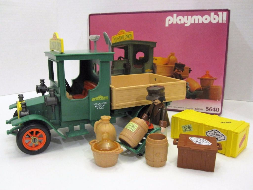 Playmobil 5640 - Delivery Truck - Back