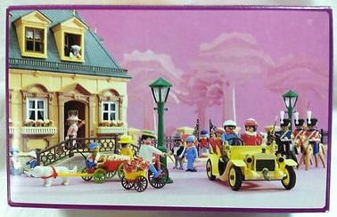 Playmobil 7155-usa - 1900 Car - Back