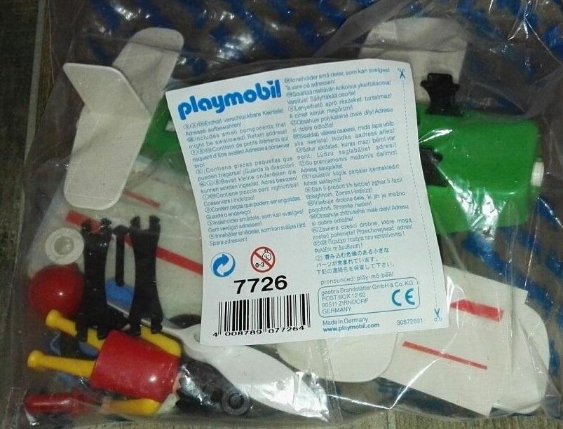 Playmobil 7726 - Biplane Pegasus - Box
