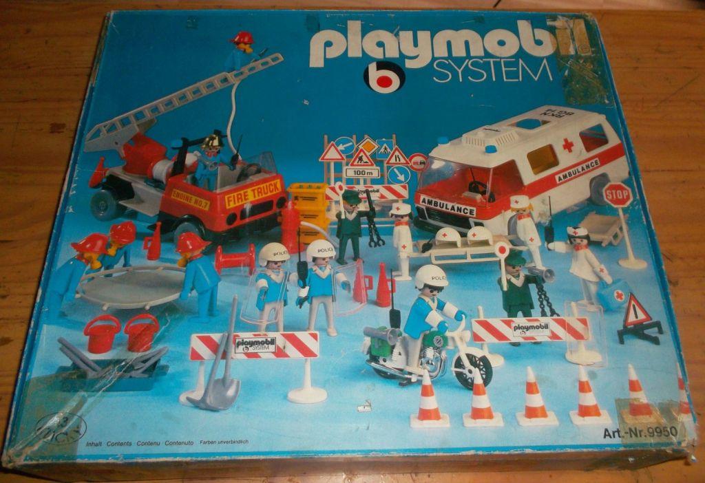 Playmobil 9950-ger - Rescue Super Set - Box