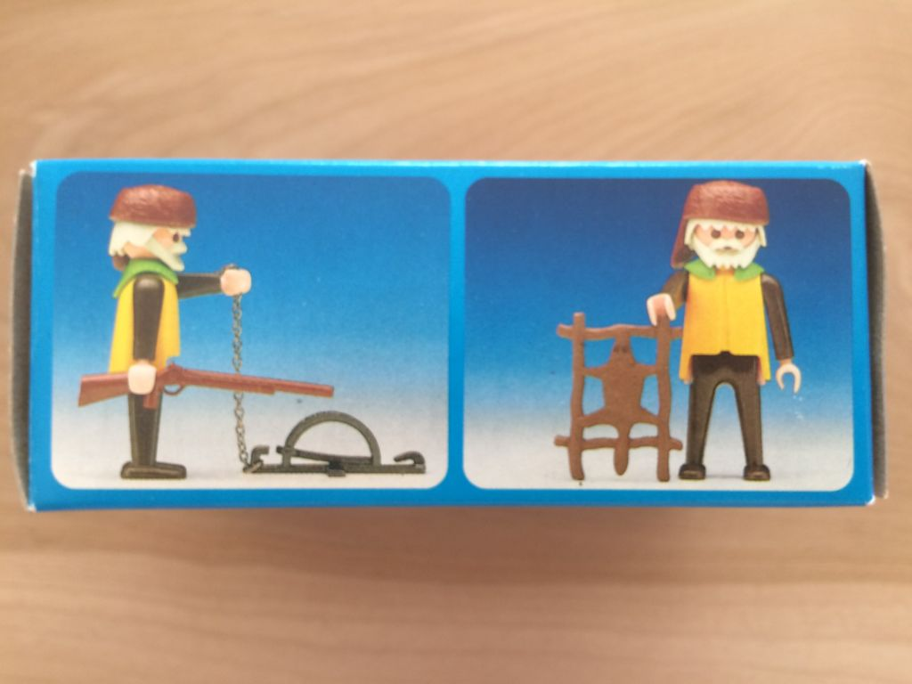 Playmobil 3394-ant - Trapper - Back