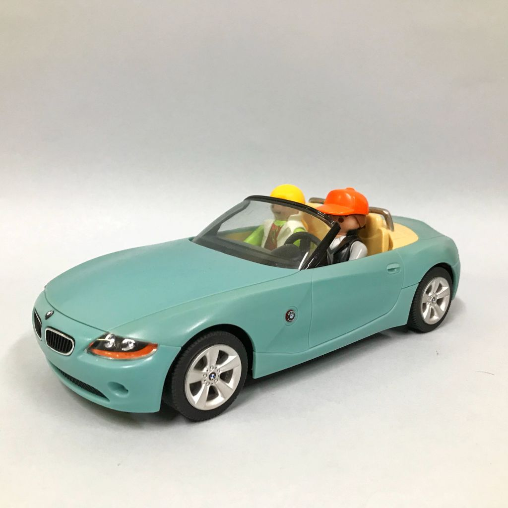 Playmobil BMWZ4-ger - BMW Z4 Roadster - Back