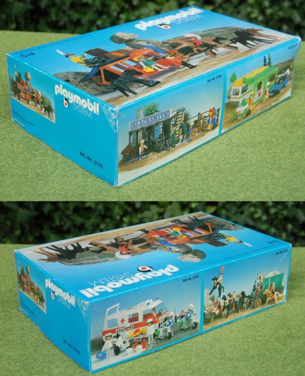 Playmobil 3175s1v2 - Stagecoach Ambush - Box