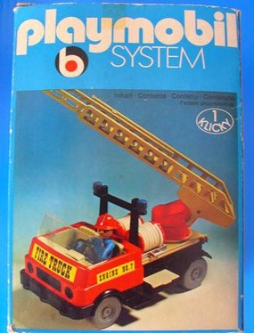 Playmobil 3236s1v1 - Fire Truck - Box