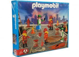 Playmobil - 1-9514-ant - Feuerwehrmänner und Mediziner