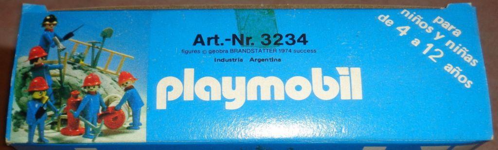 Playmobil 3234-ant - Firemen set - Box