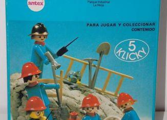 Playmobil - 3234-ant - Firemen set