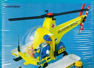 Playmobil - 3247-ant - Rescue helicopter