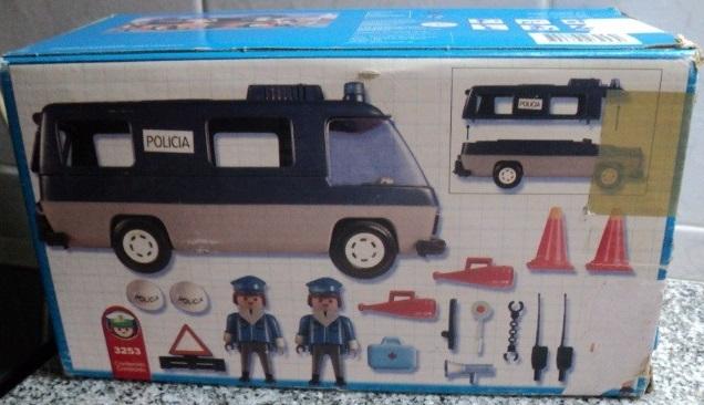 Playmobil 3253v3-ant - Police Van - Box