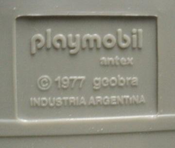Playmobil 3253v3-ant - Police Van - Back