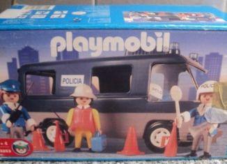 Playmobil - 3253v3-ant - Police Van