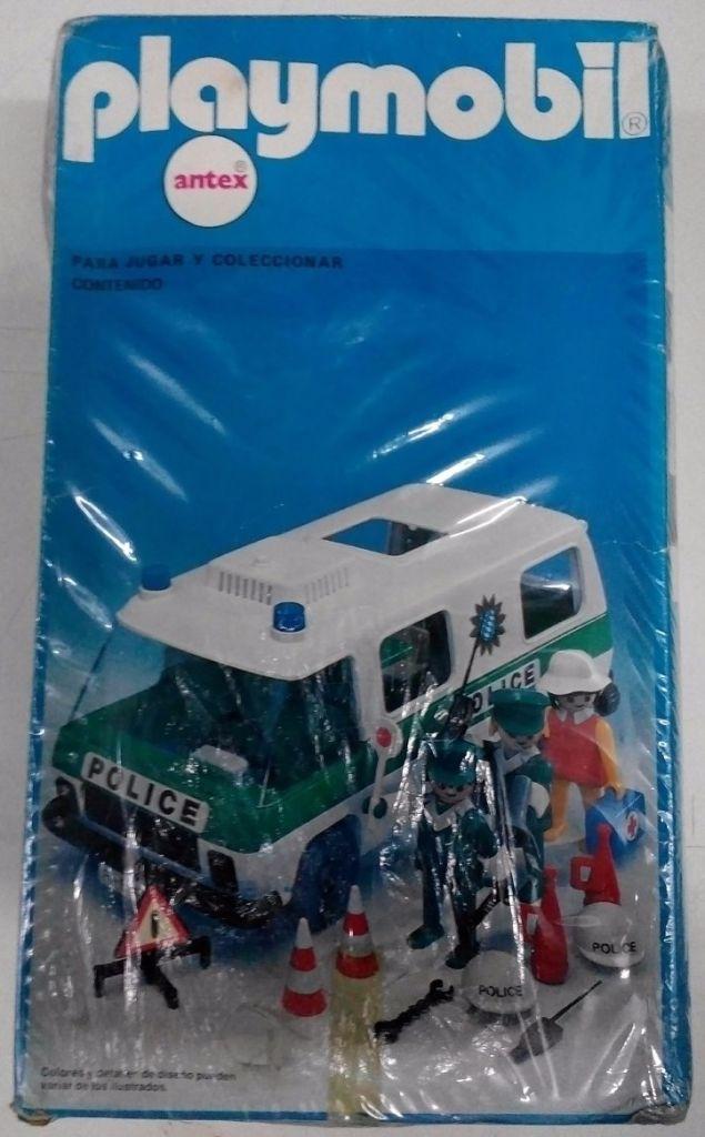 Playmobil 3253v1-ant - Police Van - Box