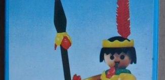 Playmobil - 3352-ant - Indian / Canoe
