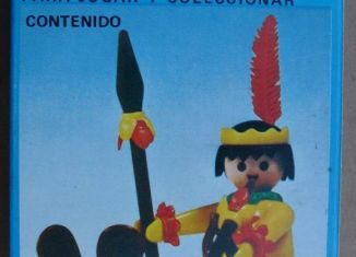 Playmobil - 3352-ant - Indian / Canoe