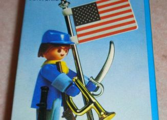 Playmobil - 3354-ant - US soldier & flag