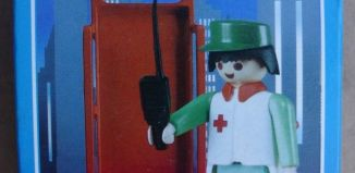 Playmobil - 3361-ant - Nurse / stretcher