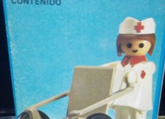 Playmobil - 3362-ant - Nurse / wheelchair