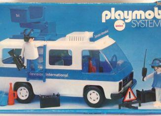 Playmobil - 3530-ant - Television International van