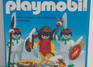 Playmobil - 3569-ant - Indian witch doctor & warriors