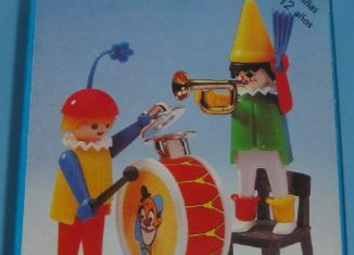 Playmobil - 3578-ant - Clowns musicians