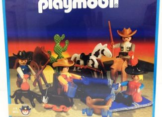 Playmobil - 9513-ant - Cowboys camp