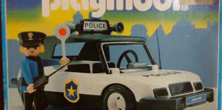 Playmobil - 3149v2-ant - Police Car