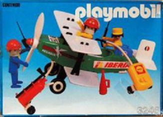 Playmobil - 3246v2-esp - Biplane Pegasus