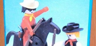 Playmobil - 3581-esp - Sheriff and Cowboy