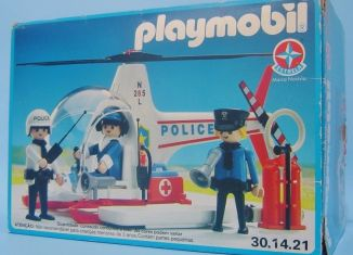 Playmobil - 30.14.21-est - Police helicopter