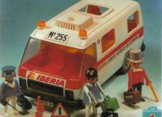 Playmobil - 3255-fam - Iberia van
