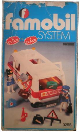 Playmobil 3255-fam - Iberia van - Box