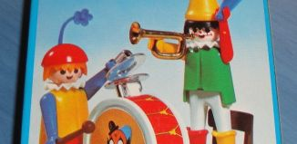 Playmobil - 3578-fam - Clowns musicians