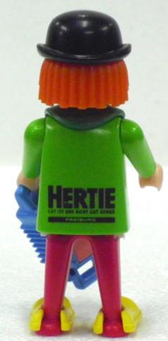 Playmobil 0000-ger - Clown Hertie - Back