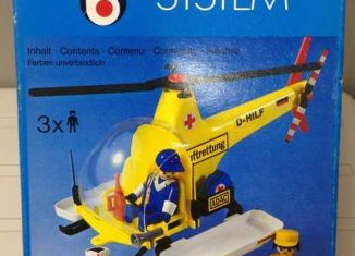 Playmobil - 3247v2-ita - Rescue helicopter