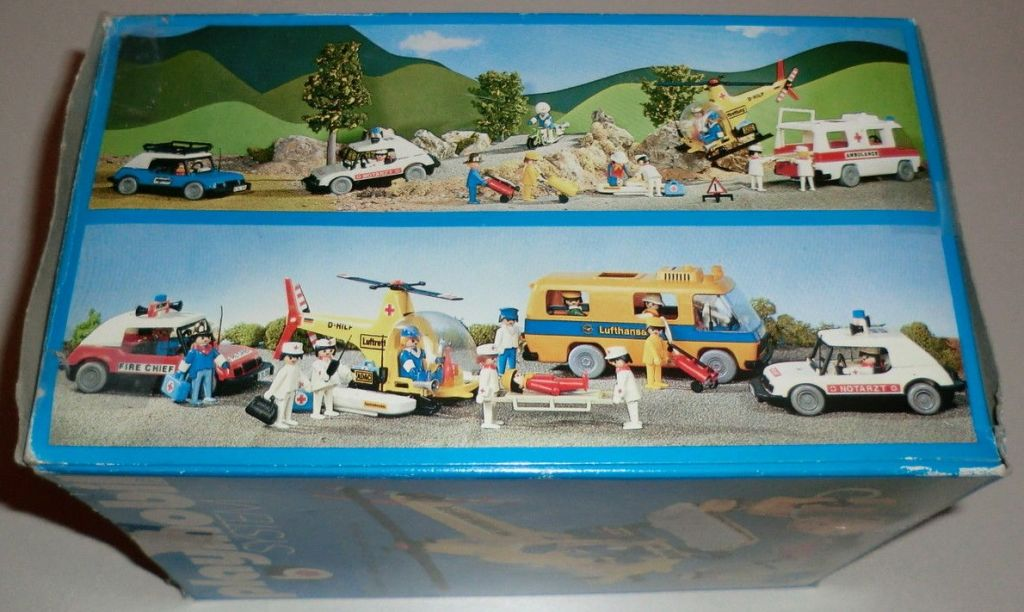 Playmobil 3247v1-ita - Rescue helicopter - Back
