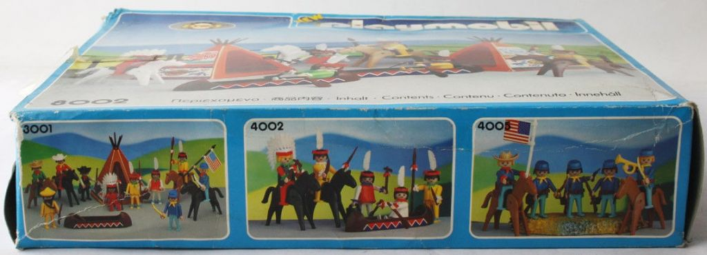 Playmobil 3001-lyr - Union Soldiers, Cowboys and Indians - Box