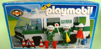 Playmobil - 9001-lyr - Police Van